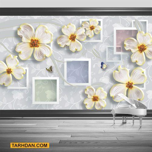 دانلود کاغذ دیواری لایه باز با کیفیت عکس گل